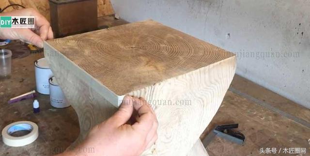 创意凳子,树桩凳的做法