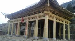 古寺庙建筑斗拱制作