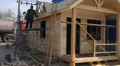 生态小木屋
