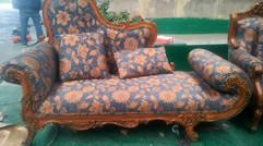 欧式沙发翻新换布,相中没有