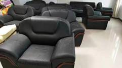 办公沙发不要扔了翻新换皮和新的一样